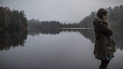Lac Desmarais, Estrie