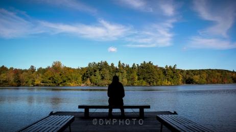 Réflexion. Parc du Mont St-Bruno, QC.