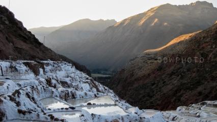 Las Salinas. Près de Cuzco, Pérou.